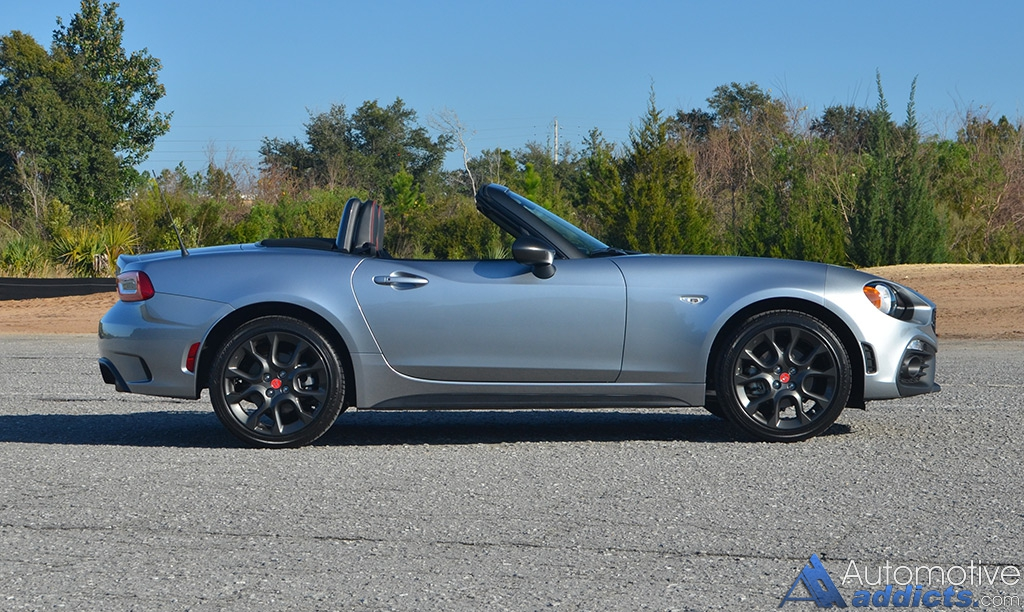 2017 Fiat 124 Spider Abarth Review Amp Test Drive