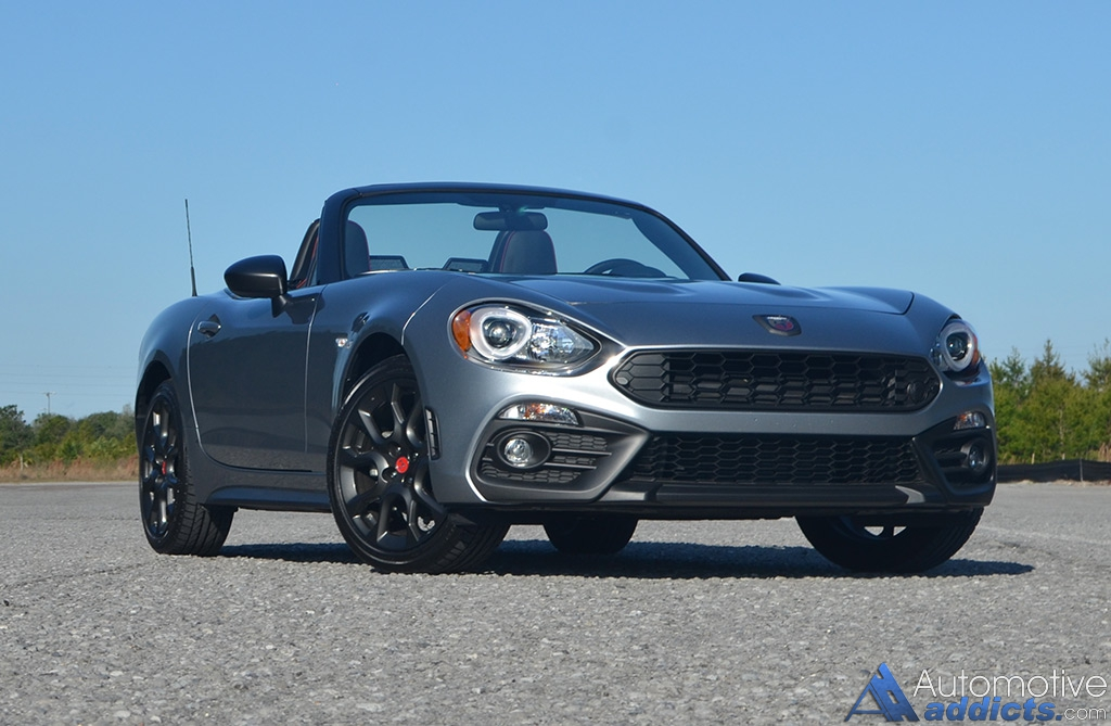 2017 fiat 124 spider abarth review test drive. Black Bedroom Furniture Sets. Home Design Ideas