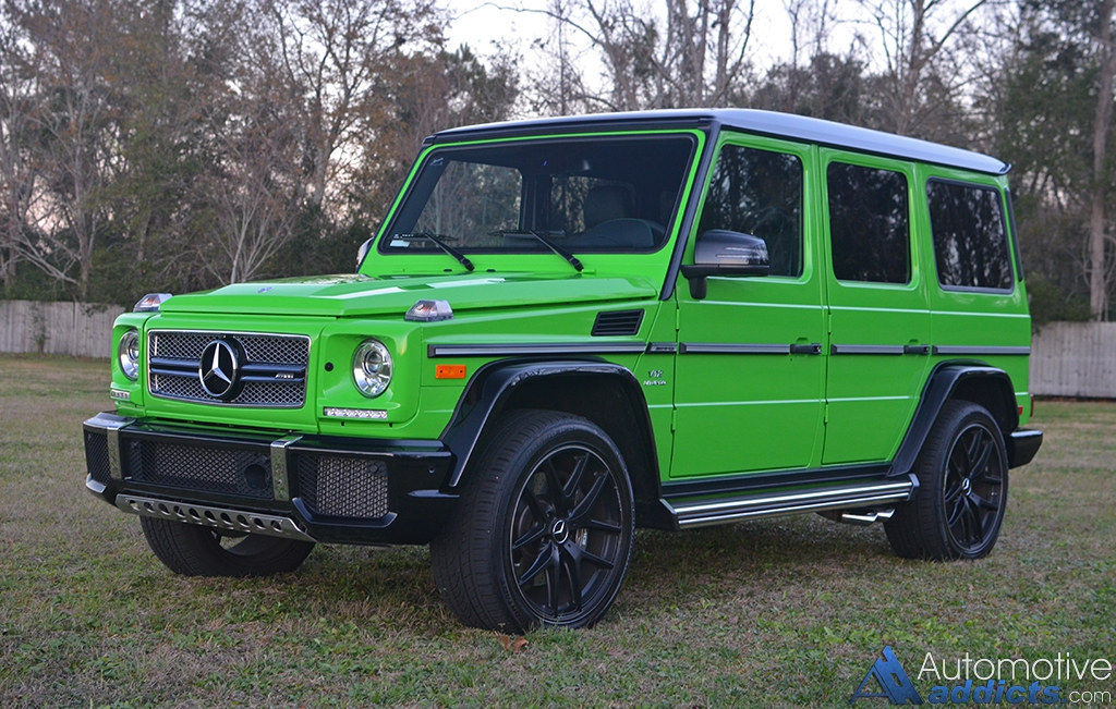 2017 mercedes amg g65 review test drive for Mercedes benz g65