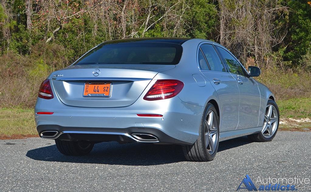 2017 Mercedes-Benz E300 4MATIC Review & Test Drive