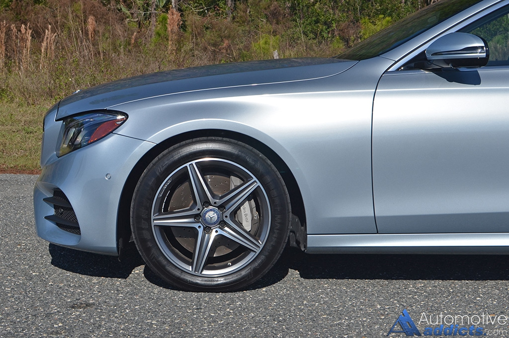 2017 mercedes benz e300 4matic review test drive for Mercedes benz ml350 tires compare prices reviews