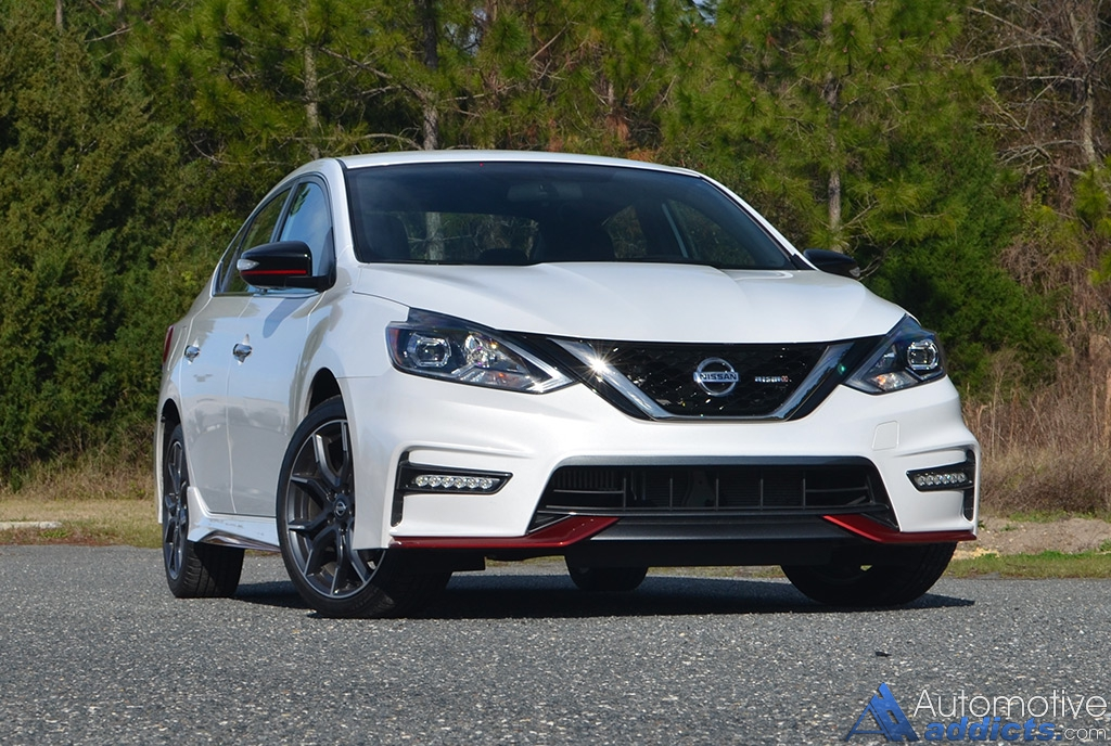 2017 nissan sentra nismo review test drive. Black Bedroom Furniture Sets. Home Design Ideas