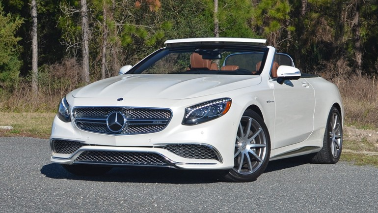 2017 Mercedes-AMG S65 Cabriolet Review & Test Drive