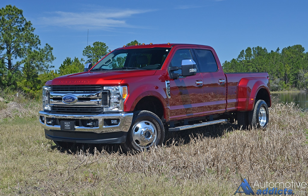 2017 ford f 350 4 4 super duty crew cab xlt dual rear wheels review test drive fendybt2. Black Bedroom Furniture Sets. Home Design Ideas