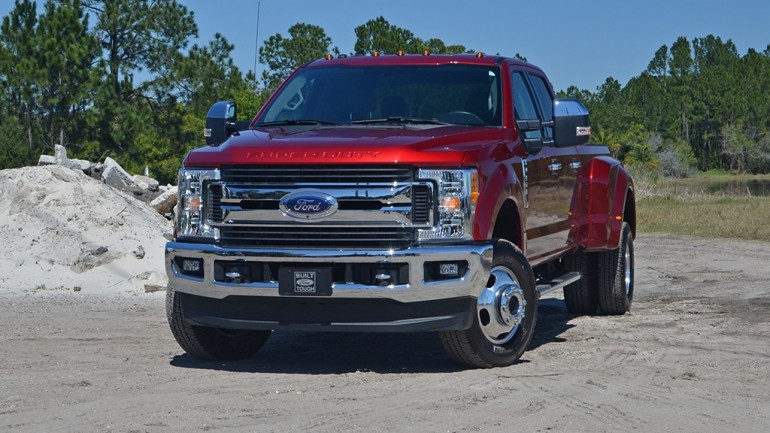 2017 Ford F-350 4×4 Super Duty Crew Cab XLT Dual Rear Wheels Review & Test Drive