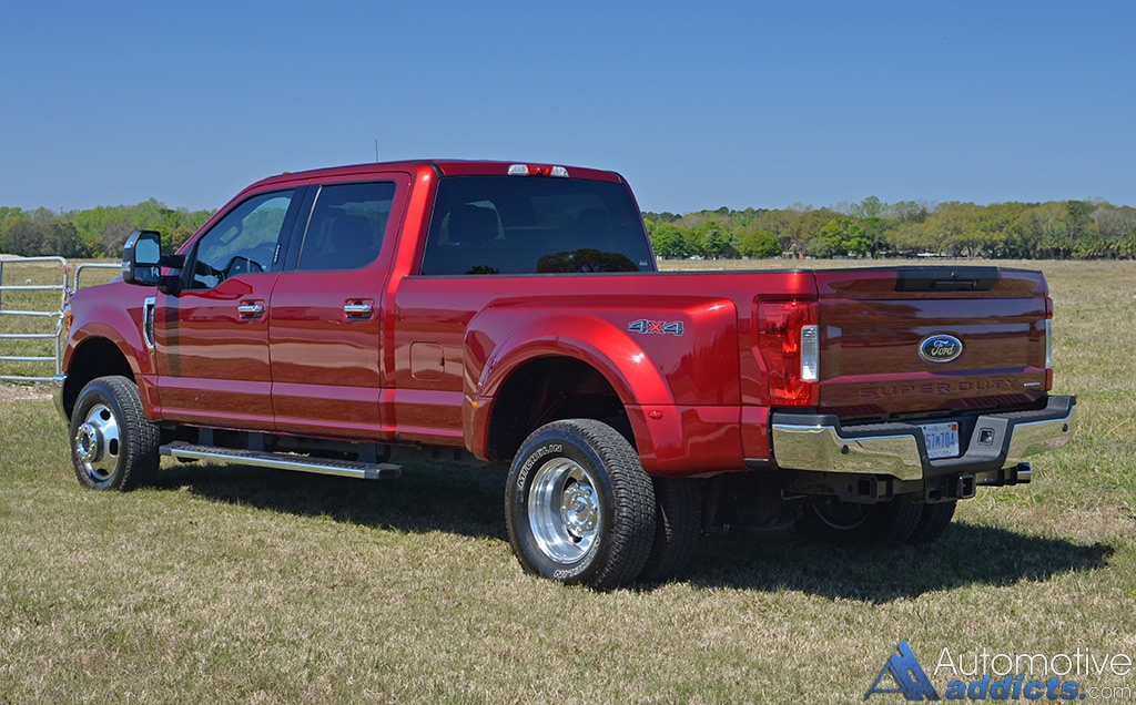 2017 Ford F-350 4×4 Super Duty Crew Cab XLT Dual Rear ...