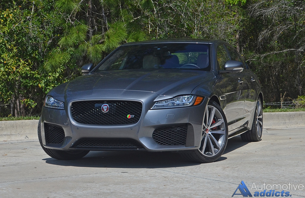 2017 jaguar xf s awd review & test drive