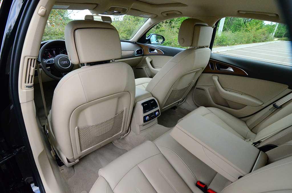Audiarearinterior - Audi a6 interior