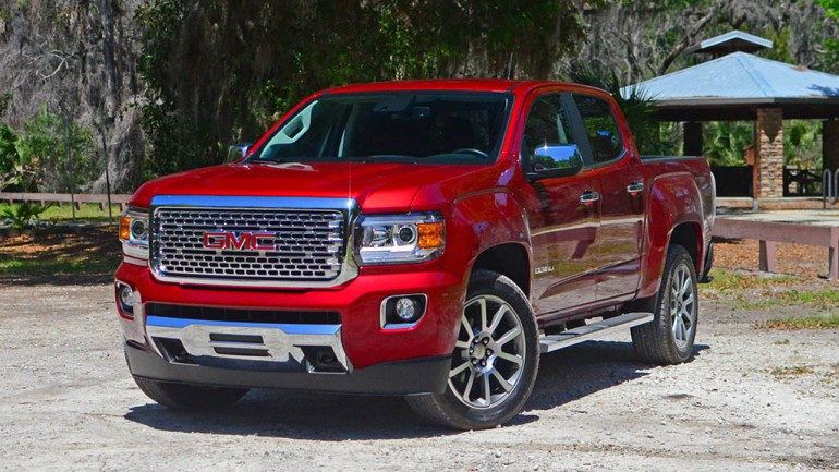 2017 GMC Canyon Denali 4WD Crew Cab Review & Test Drive