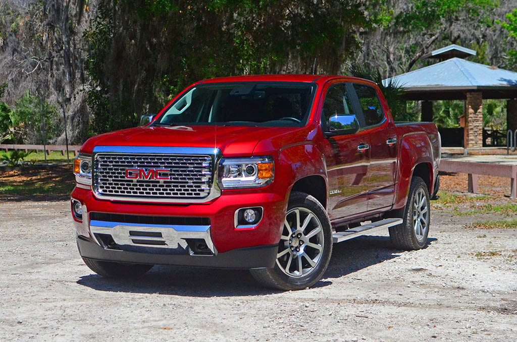 2017 gmc canyon denali 4wd crew cab review test drive. Black Bedroom Furniture Sets. Home Design Ideas