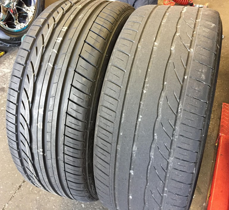 infiniti-fx50s-dunlop-tires-new-old
