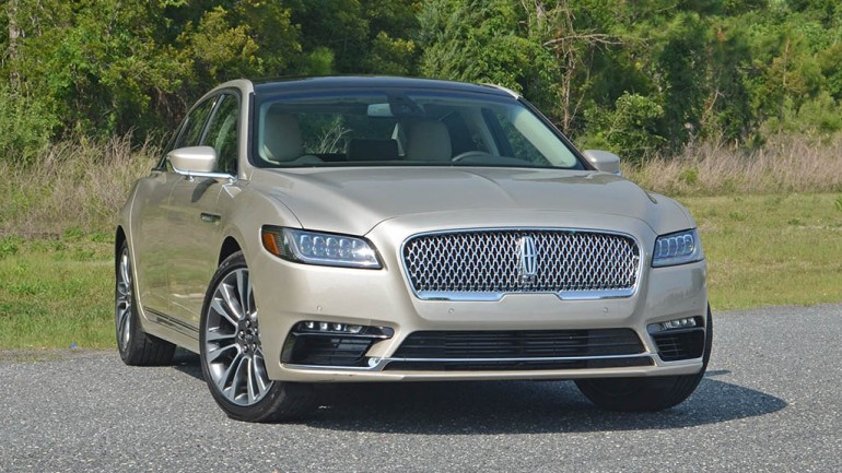 2017 Lincoln Continental Reserve AWD Review & Test Drive