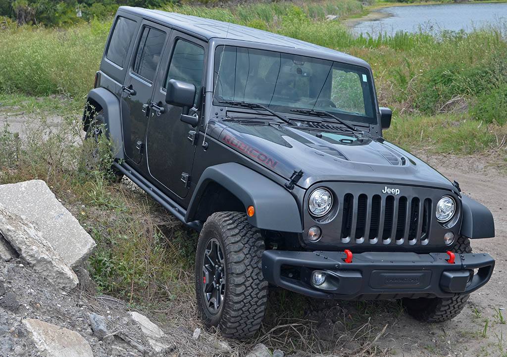 Jeep Wrangler Unlimited Rubicon Hard Rock Edition Rocks