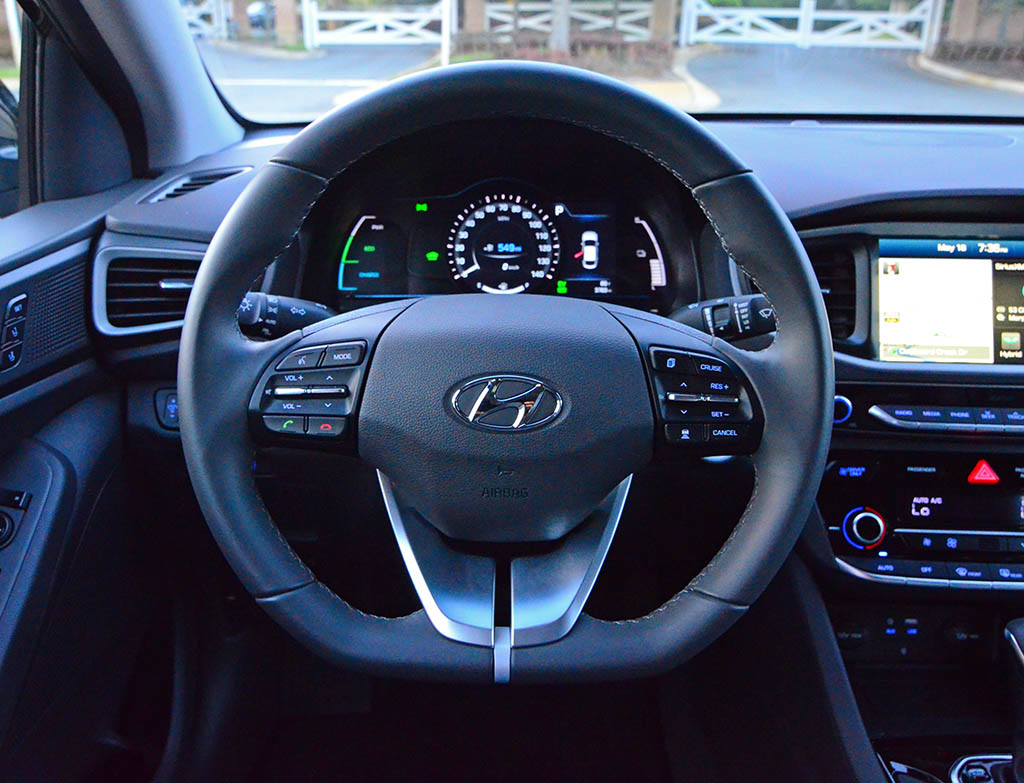 hyundai ioniq drive hybrid limited test wheel dealers network local