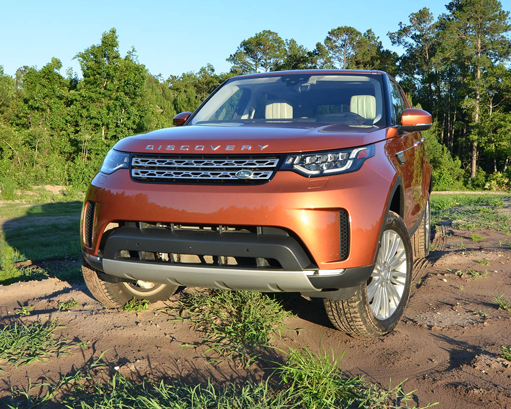 2017 land rover discovery hse luxury td6 review test drive. Black Bedroom Furniture Sets. Home Design Ideas