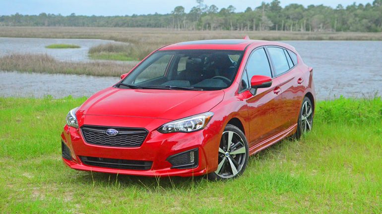 2017 Subaru Impreza 2.0i Sport Hatchback Review & Test Drive
