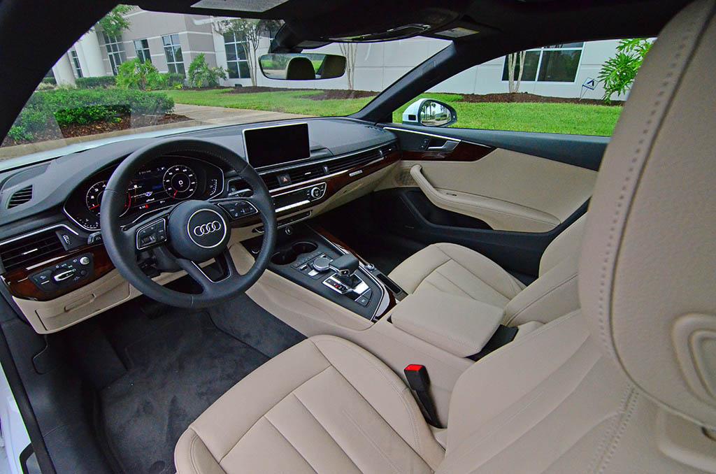 2018 Audi A5 20t Prestige Dashboard