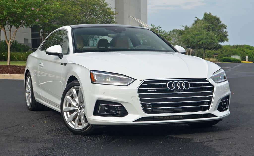 Audi A6 2.0 T >> 2018 Audi A5 Coupe 2.0T Quattro Prestige Review & Test Drive