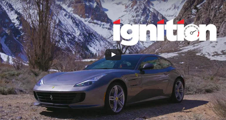 2017 ferrari gtc4lusso first drive mt ignition video. Black Bedroom Furniture Sets. Home Design Ideas