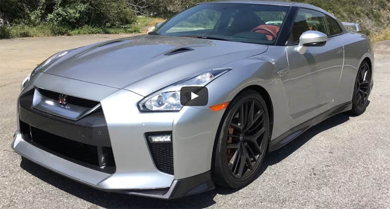 2017 Nissan GT-R Premium One Take – Matt Farah from The Smoking Tire