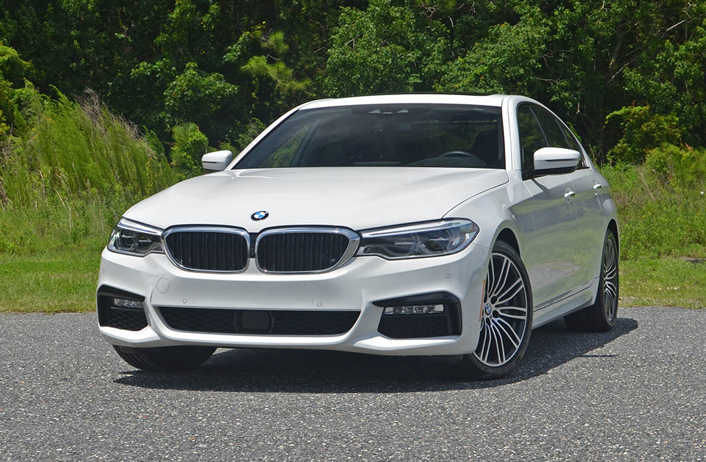 2017 bmw 540i xdrive m sport test drive the autos post. Black Bedroom Furniture Sets. Home Design Ideas