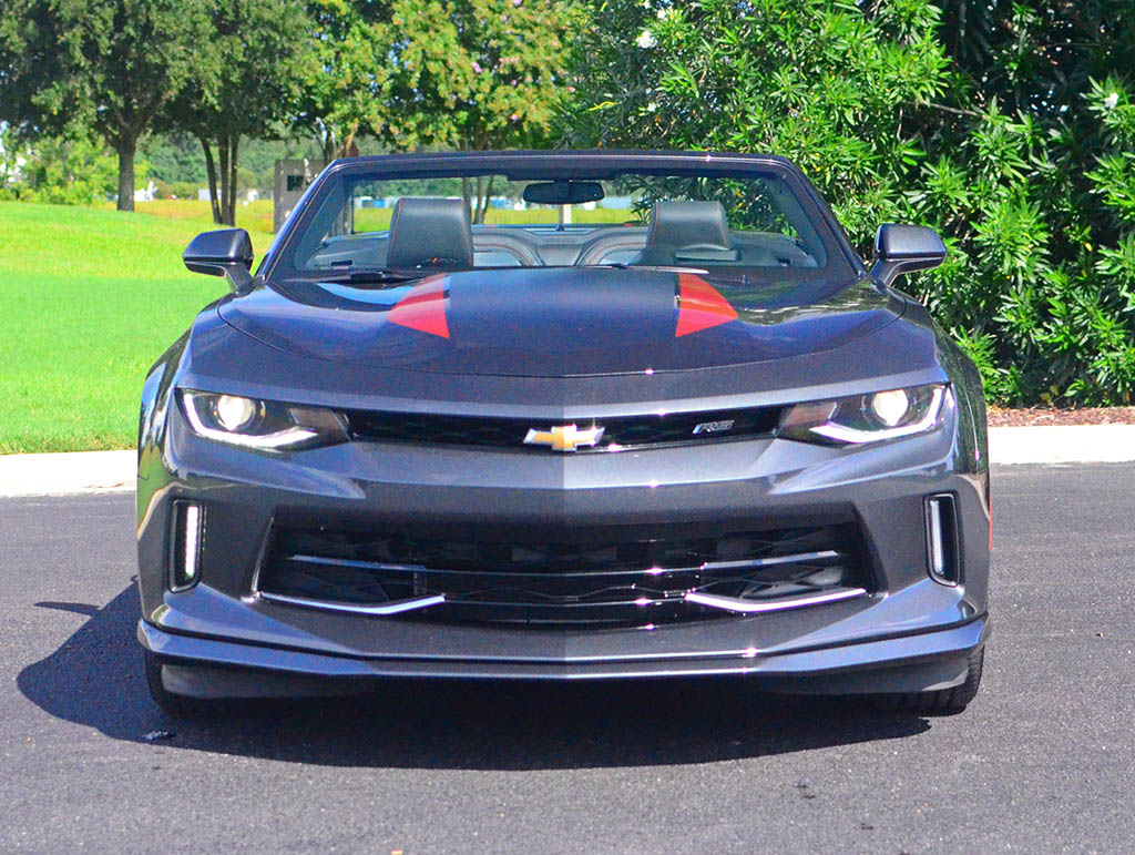 A Base Camaro Convertible And Ending Up At An As Tested Price Of 45 480 For My 50th Anniversary Edition V6 The Chevy Sports Car Is