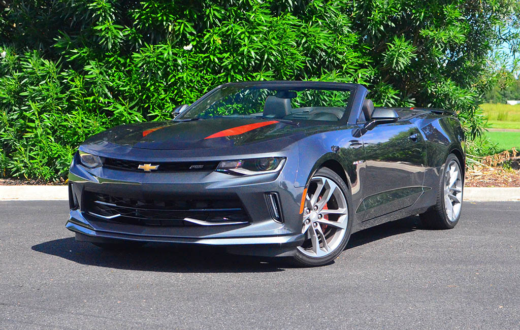 2017 Chevrolet Camaro 2lt Rs Convertible 50th Anniversary Edition Quick Spin Review