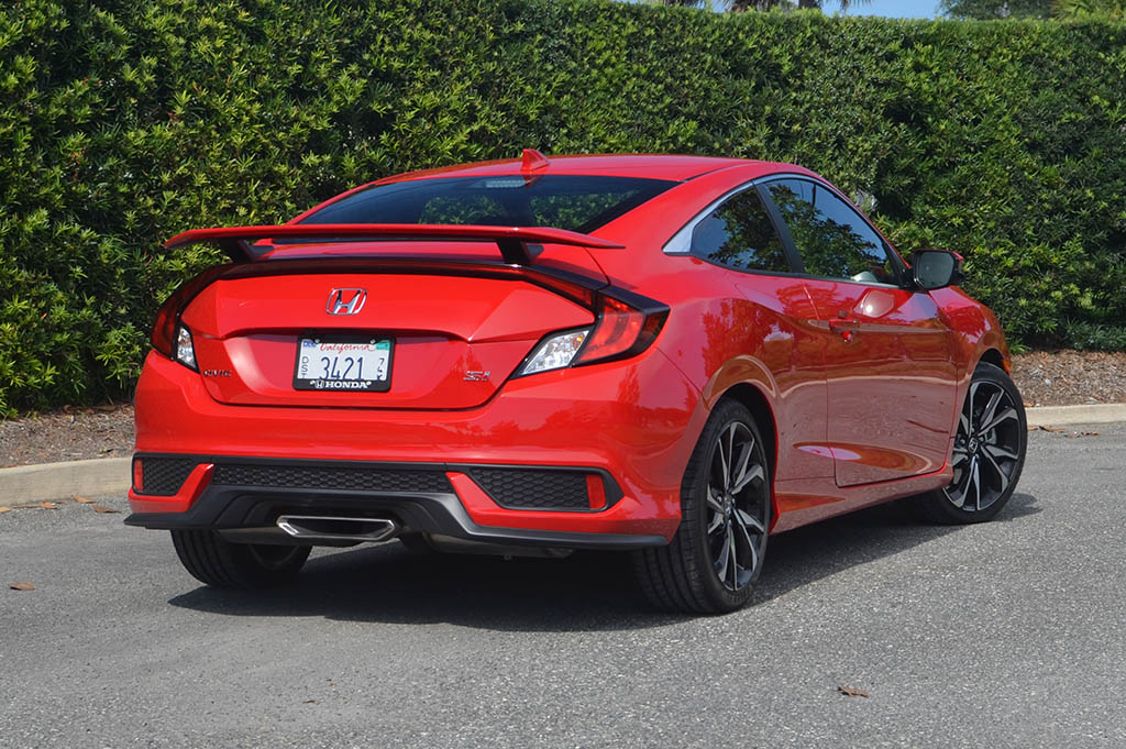2017 honda civic si coupe review test drive. Black Bedroom Furniture Sets. Home Design Ideas
