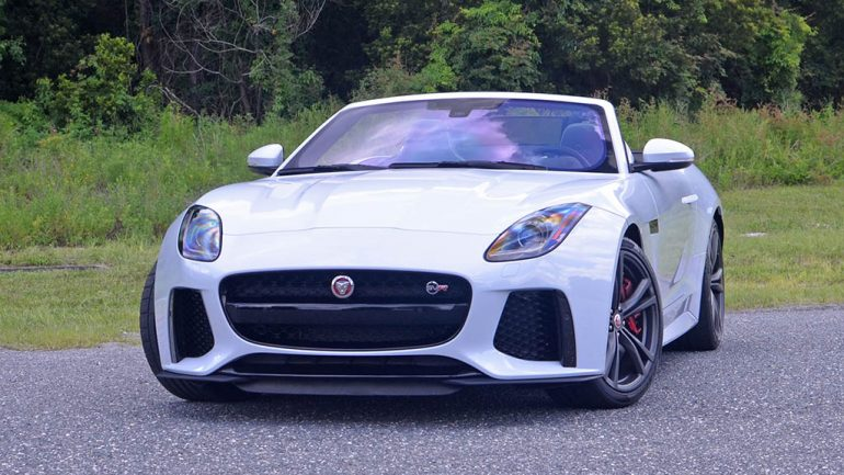 2017 Jaguar F-Type SVR Convertible Quick Spin Review