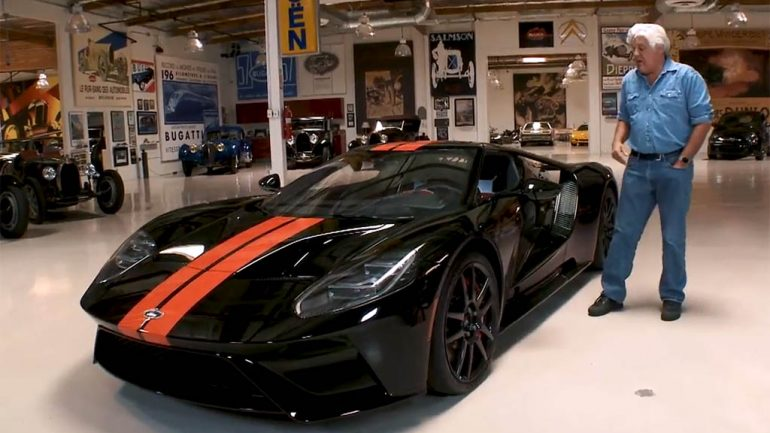 Jay Leno's New 2017 Ford GT Driven and Explored: Video