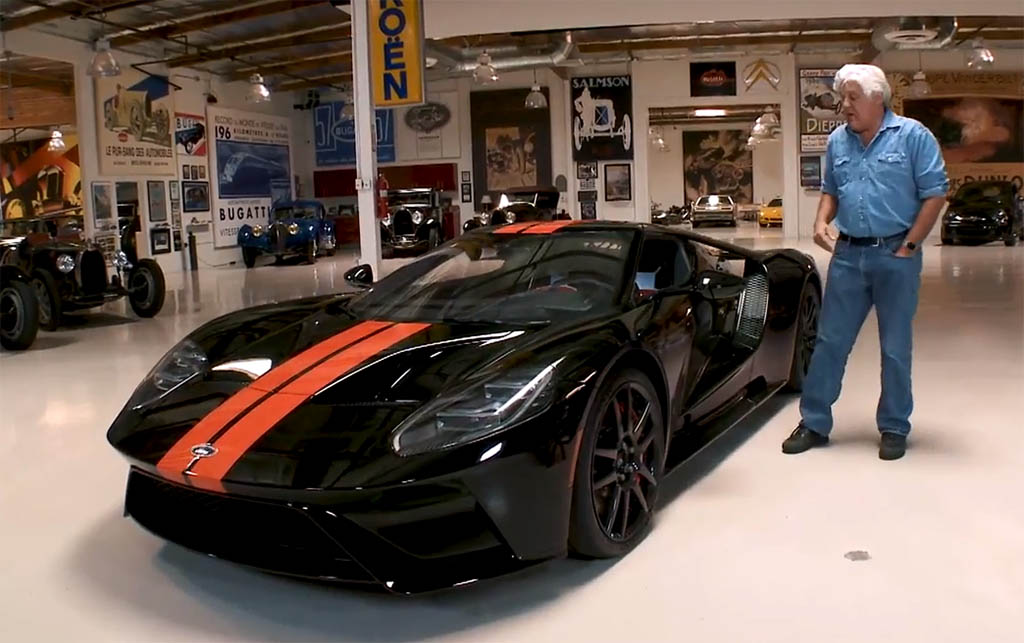 Jay leno s new 2017 ford gt driven and explored video for Garage gt auto