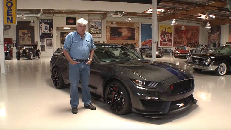 SpeedKore Turns 2016 Ford GT350R Into 'Carbon Spec' with Full Carbon Fiber Body – In Jay Leno's Garage