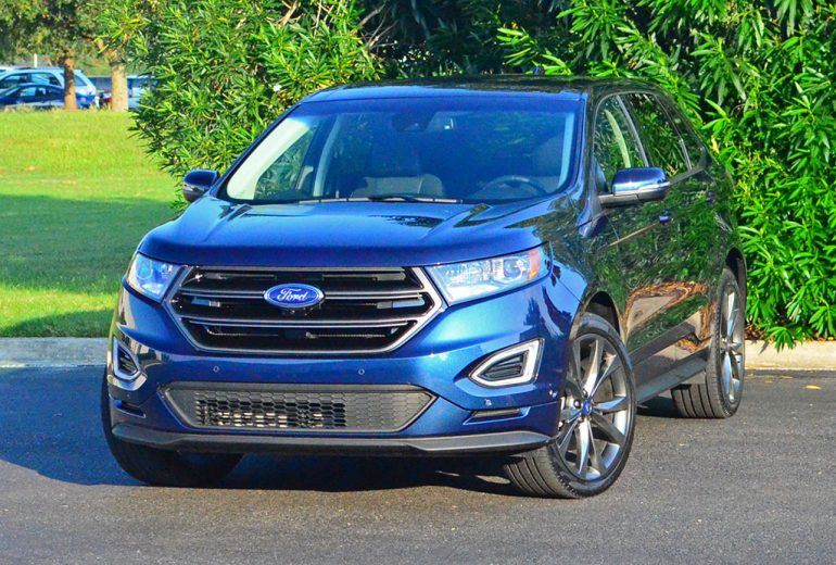 2017 ford edge sport review test drive. Black Bedroom Furniture Sets. Home Design Ideas