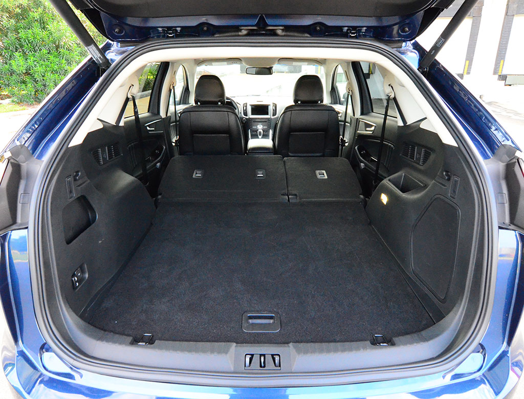 2017 Ford Edge Sport Cargo Seats Down