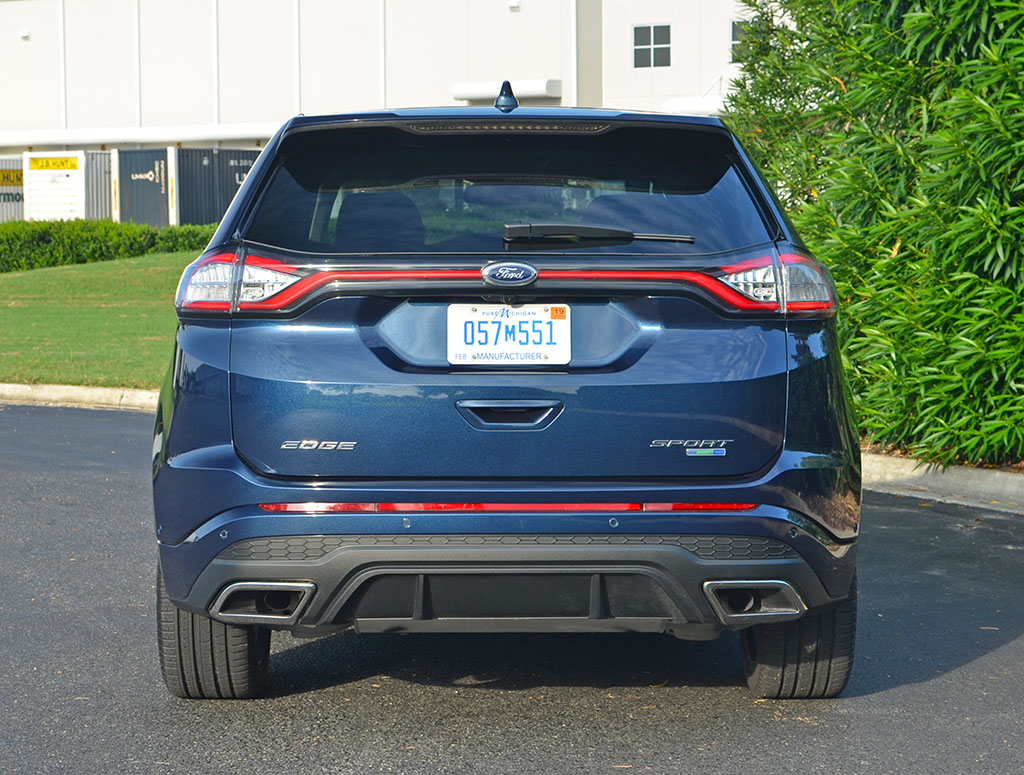Ford Edge Towing Capacity >> 2017 Ford Edge Sport Review & Test Drive