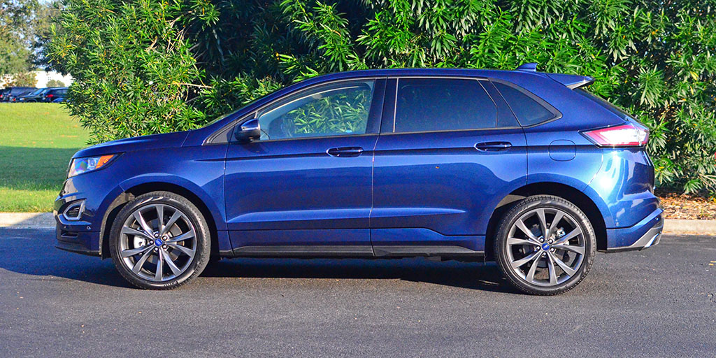 2017 Ford Edge Sport Review & Test Drive