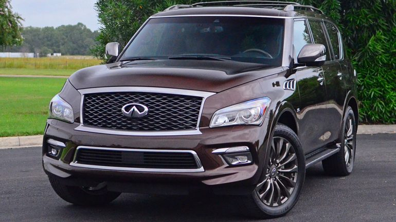 2017 Infiniti QX80 AWD Limited Quick Spin Review & Test Drive
