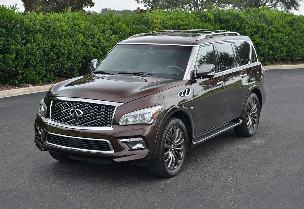 2017 infiniti qx80 awd limited quick spin review test drive. Black Bedroom Furniture Sets. Home Design Ideas
