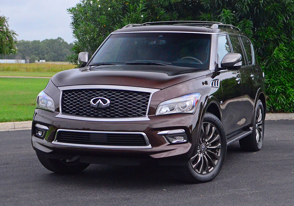 2017 infiniti qx80 awd limited quick spin review test drive