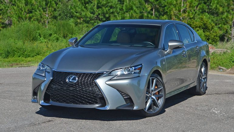 2017 Lexus GS 200t F Sport Review & Test Drive