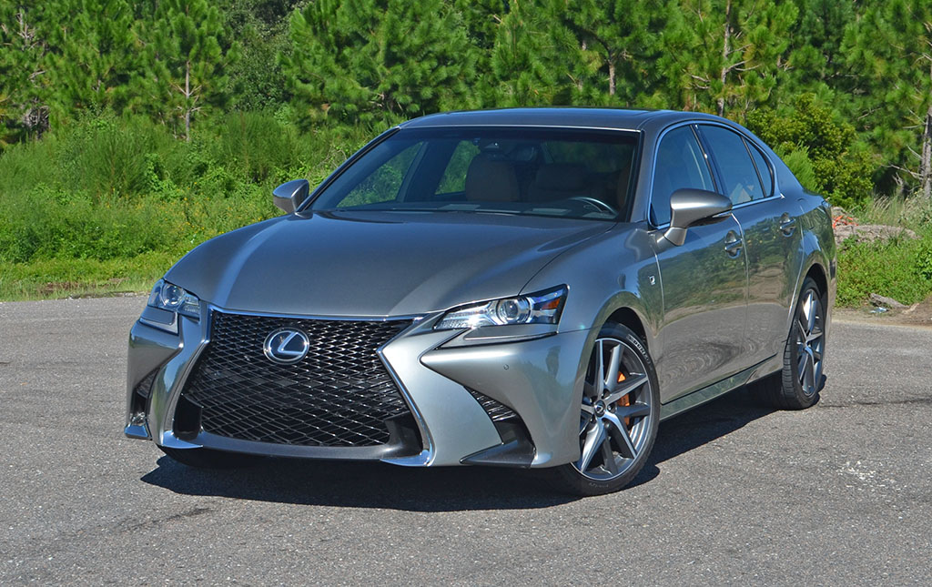 2017 lexus gs 200t f sport review test drive. Black Bedroom Furniture Sets. Home Design Ideas