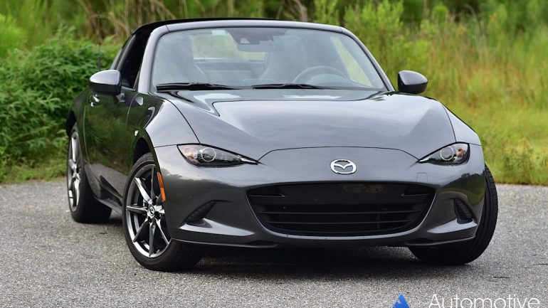 2017 Mazda MX-5 Miata RF Review & Test Drive