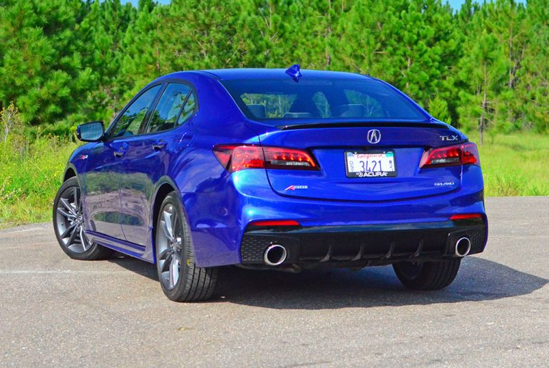 2018 acura tlx sh awd a spec review test drive. Black Bedroom Furniture Sets. Home Design Ideas