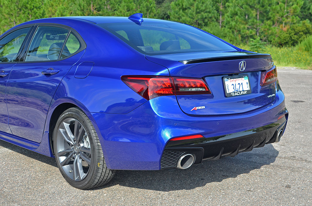 2018 Acura Tlx Shawd Aspec Rear Quarter Automotive Addicts