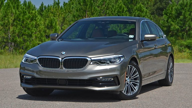 2018 BMW 530e Plug-In Hybrid Review & Test Drive