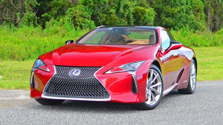 2018 Lexus LC 500h Review & Test Drive