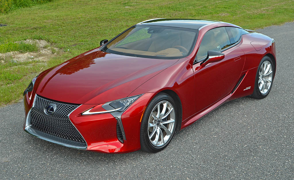 2018 lexus lc 500h review test drive. Black Bedroom Furniture Sets. Home Design Ideas