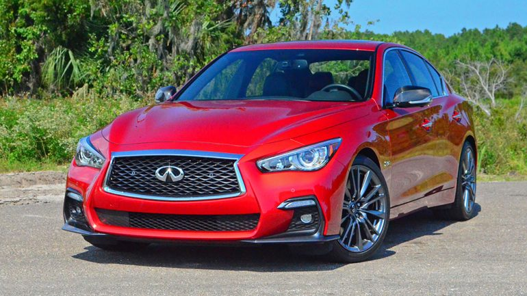 2018 Infiniti Q50 Red Sport 400 Quick Spin Review & Test Drive