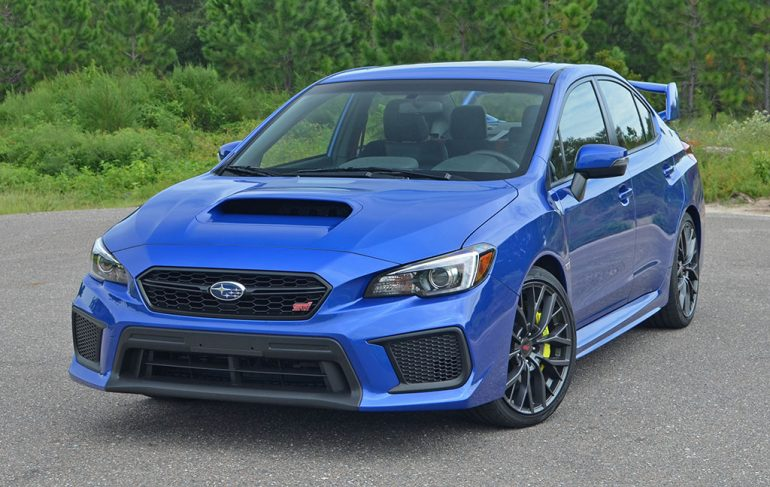 2018 Subaru Wrx Sti Limited Quick Spin Review Amp Test Drive