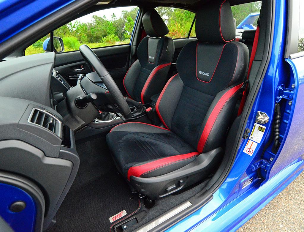 2018 Subaru Wrx Sti Limited Front Seats